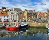 Pittenweem Fife Scotland harbour (2)