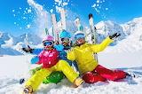 Family-Ski-Trip-Snow-Winter-Holiday