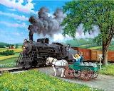 Horse Crossing~ JohnSloane