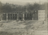 Construction of Hinkle Hall, 1920