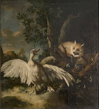 P.L. Kamenev. Fox with duck
