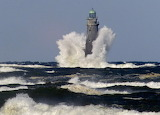 Lighthouse on Minots Ledge in Massachusetts