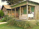 ^ Delta Sharecropper Cabin - All The Conveniences is a photograp