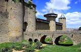 Carcassonne medieval walls