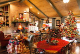 Christmas interior house