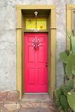 Door, pink