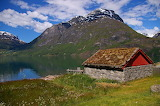 Cottage in Norway - Photo by Kerstin Riemer from Pixabay