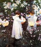 John Singer Sargent, Carnation Lily, Lily rose,1886