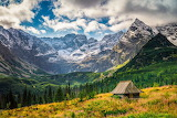 Shepherds' hut in the Gasienicowa Valley-High Tatra ...