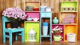 Flowers, colors, colorful, box, vase, design, flowers, interior,