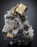 "Tumblr ""A love for Minerals"" Pyrite, Tetrahedrite & Quartz Peru"