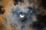 "Space tumblr astronomyblog ""Solar eclipse through the clouds"" ""O"