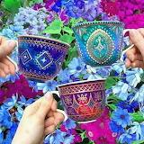 Pretty china tea cups!