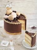 Caramel mocha cake