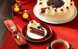 Cake tea