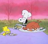 Snoopy serves♥