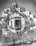 Escher - Balcone (1945)