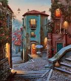 italian city street