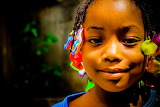 Girl with lovely smile by Kone Kassoum AFrica