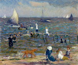 The Little Pier 1914. William James Glackens