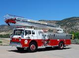 Ford 8000 Firetruck