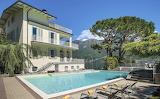 Italian Lakes countryside luxury villa and pool