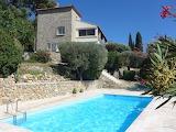 Stone Meditteranean villa, pool and garden