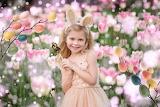 Easter-little bunny girl