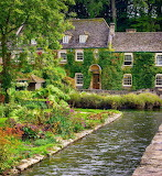 ^ Bibury in the Cotswolds of England