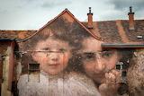 Mural On Building in Croatia