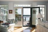 French Doors Open to Ocean