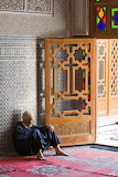 Man resting during Ramadan Fez Morocco