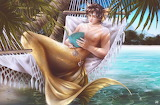 Merman, man mermaid