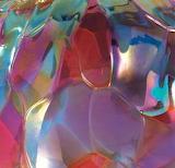 art glass ornament close-up