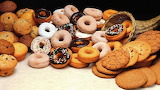 ^ Cookies, muffins and doughnuts