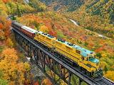 Conway Scenic Railway, New Hampshire, U.S.A.
