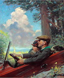 Out for a Ride~ Norman Rockwell