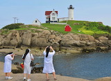 The Three Sisters York Maine USA