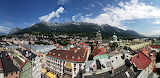 Innsbruck a panoramic view