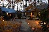 Historic homestead by candlelight