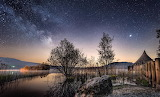 Early Morning at Llangorse Lake (Brecon Beacons)