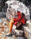 Emerico Tóth ~ Lady in Red
