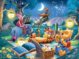 Winnie's star-gazing party