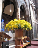 St. Cross Church, Clayton - Easter 2016 - Paschal Candle