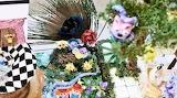 Cheshire Cat and Garden