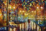 Rainy Night Walk Street