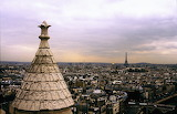 Europe - France - Paris - Sacre Couer - View from the roof