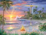 Honeymoon Sunset