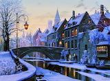 Городская зима Евгения Лушпина