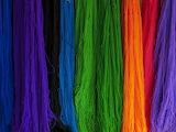 ^ Colors of yarn